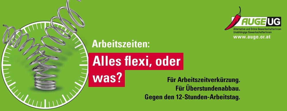 AUGE/UG - Alles flexi oder was?