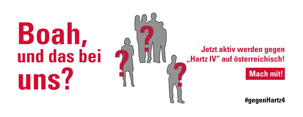 """Jetzt aktiv werden gegen """"Hartz IV"""" auf österreichisch!"""