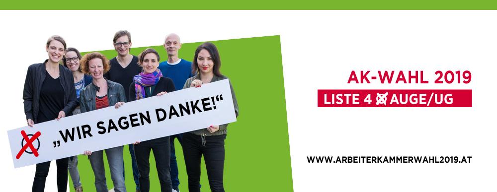 AK-Wahl 2019 - Wir sagen danke!